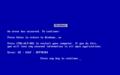 Windows9x系ブルースクリーン