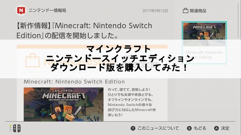 マイクラ switch 空き容量