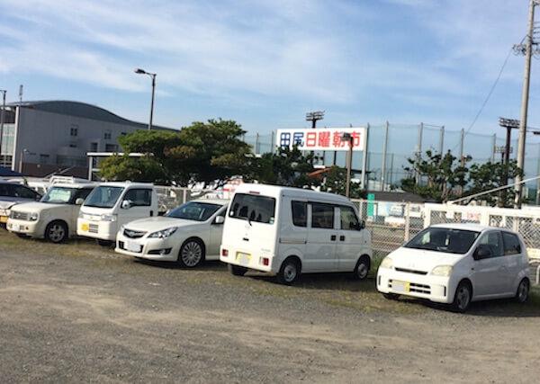 田尻漁港駐車場
