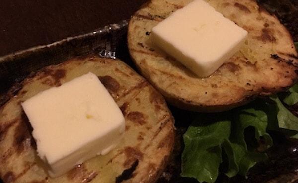 北海道のじゃがバター