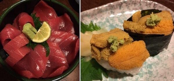 ろばた函館山のマグロ丼