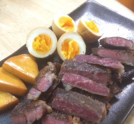 絶品燻製ステーキ