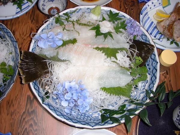 ヒラメの大皿
