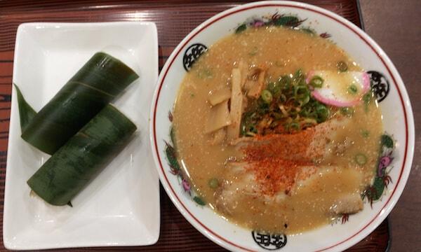紀ノ川SAで和歌山ラーメン