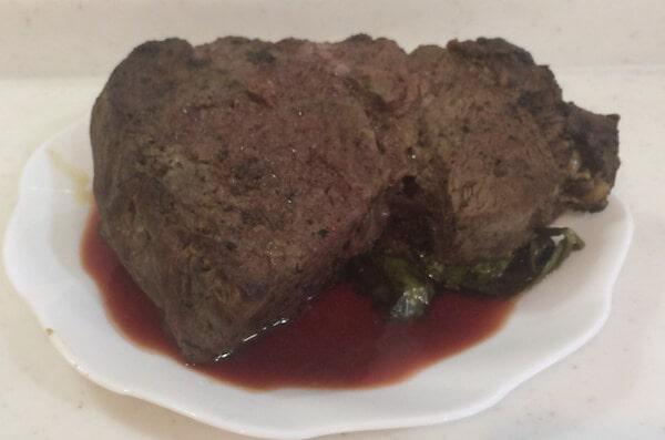 ローストビーフの肉汁