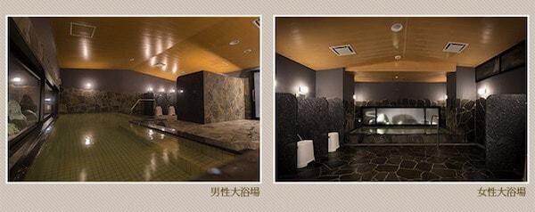 都城グリーンホテル/大浴場