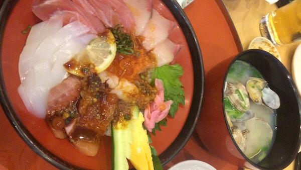 海鮮丼:こんぴら丸