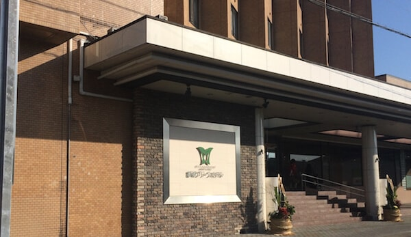 都城のビジネスホテル