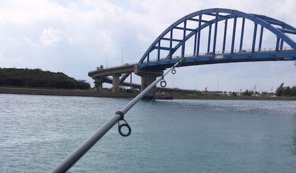 サザンゲートブリッジで釣り