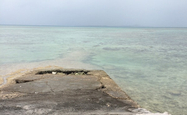 竹富島/西桟橋