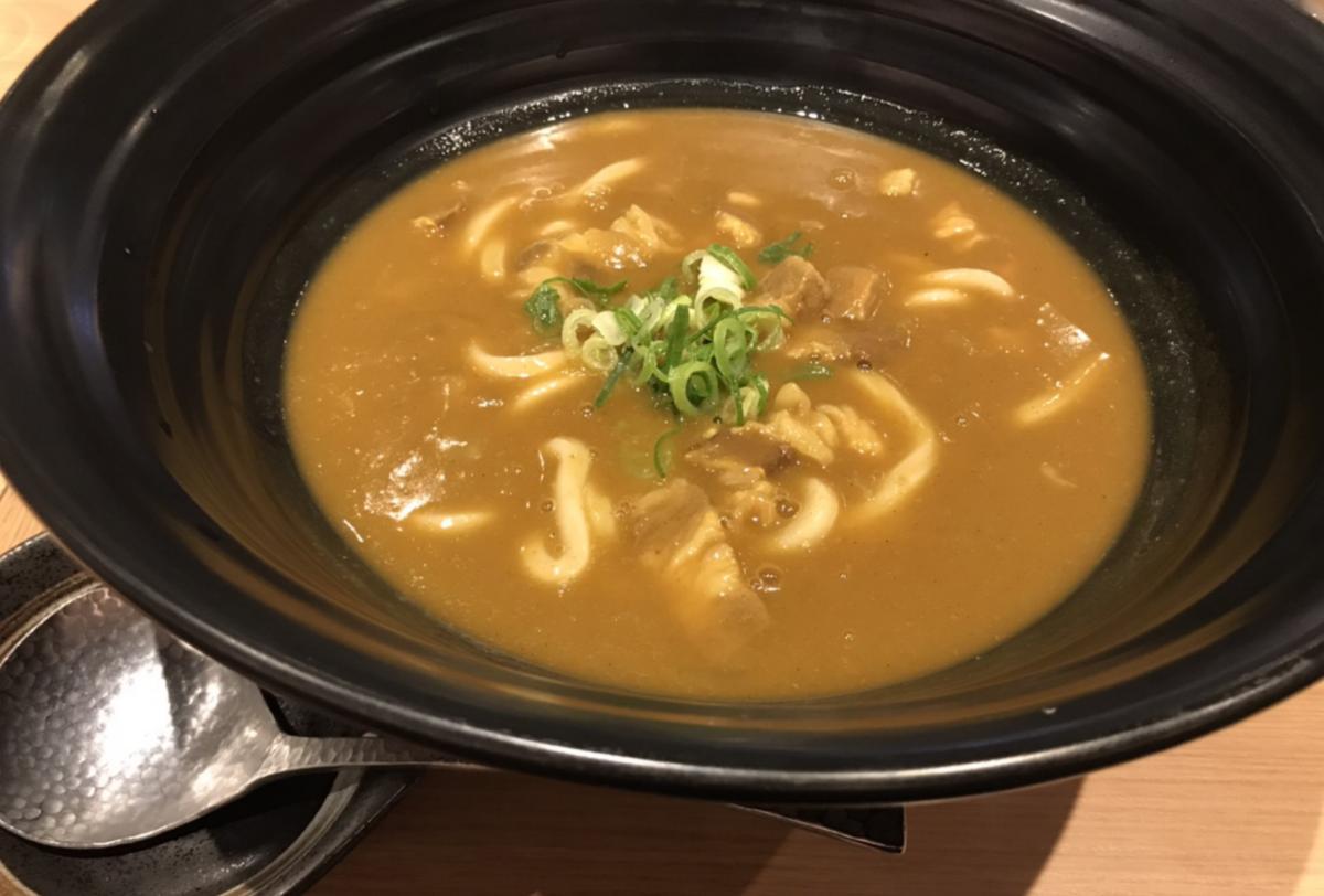 新宿テルマー湯 カレーうどん