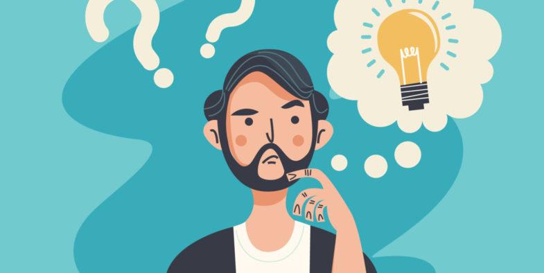 頭のキレがよくなり、頭が良くなる7つの方法⑤:常に考える「クセ」をつける