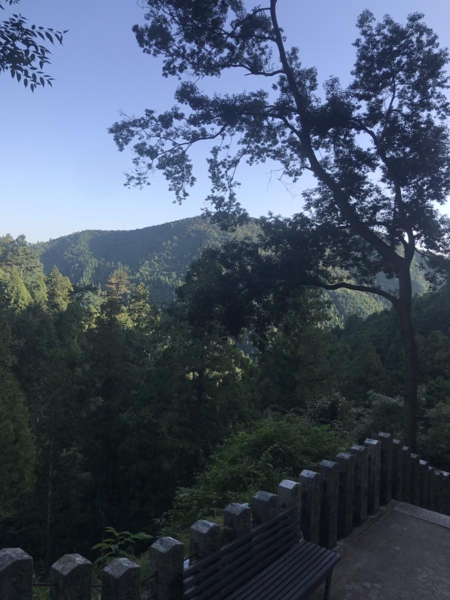 鞍馬寺からの景色