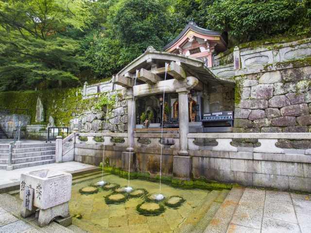 清水寺:音羽の滝のご利益