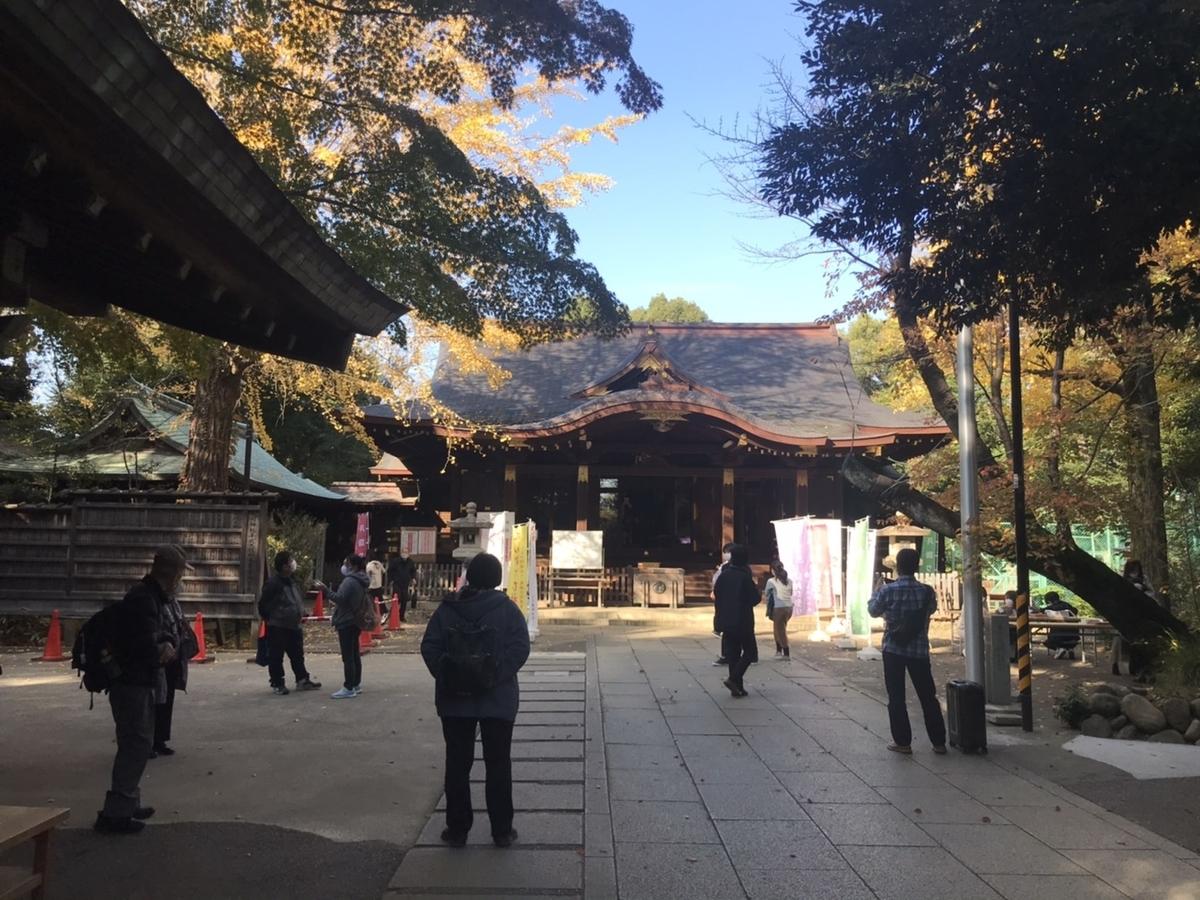 【御朱印】渋谷氷川神社