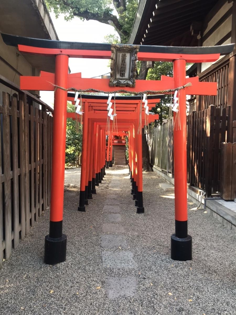 堀越神社の茶臼山稲荷