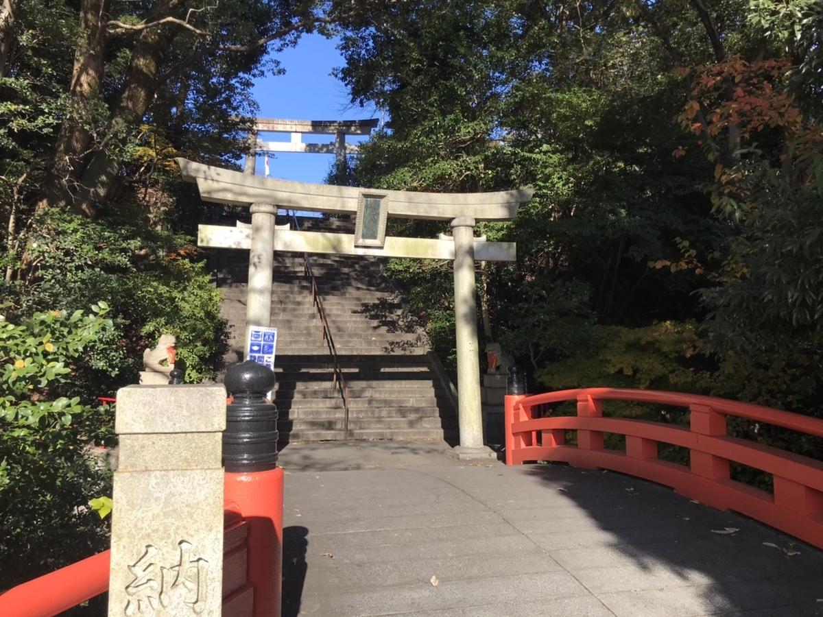城山八幡宮(名古屋)の鳥居