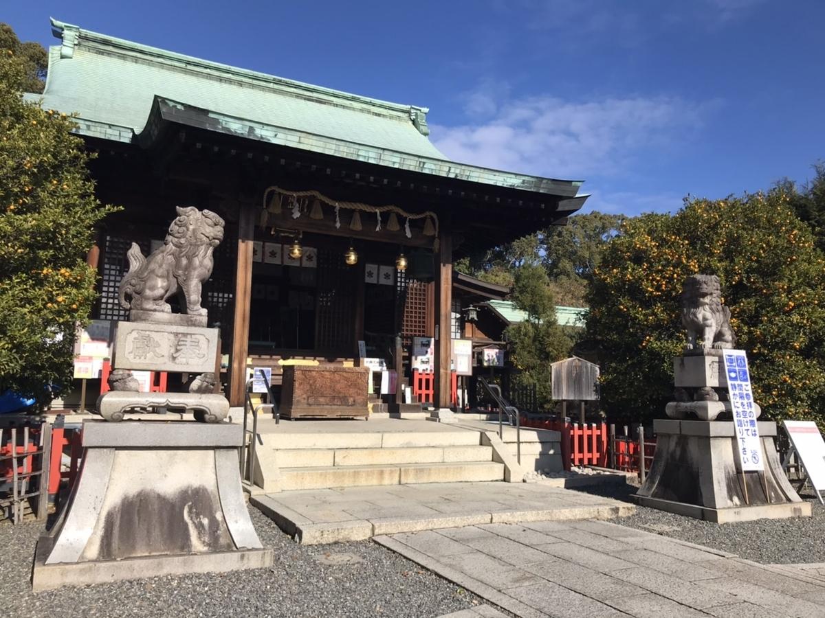 城山八幡宮(名古屋)の狛犬