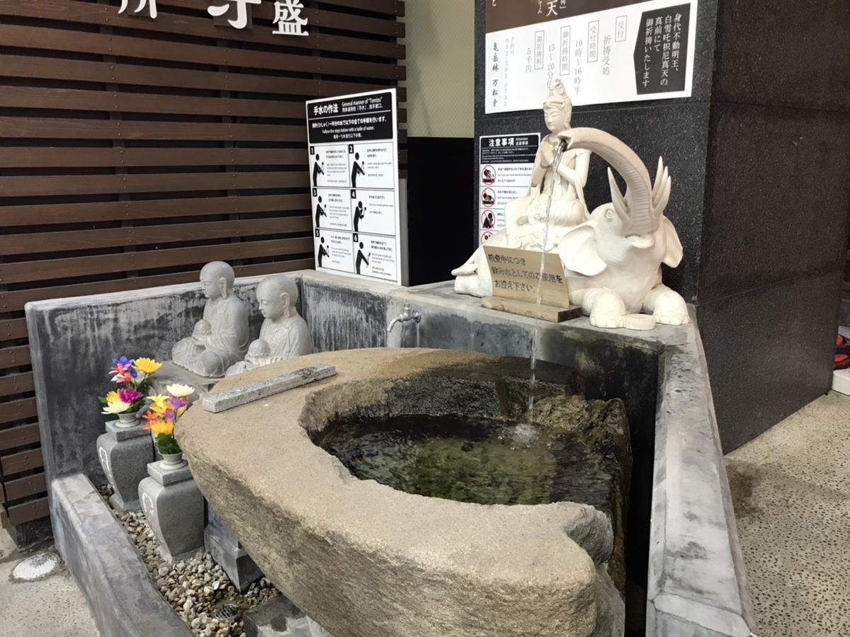 亀嶽林 万松寺の手水舎(てみずや)