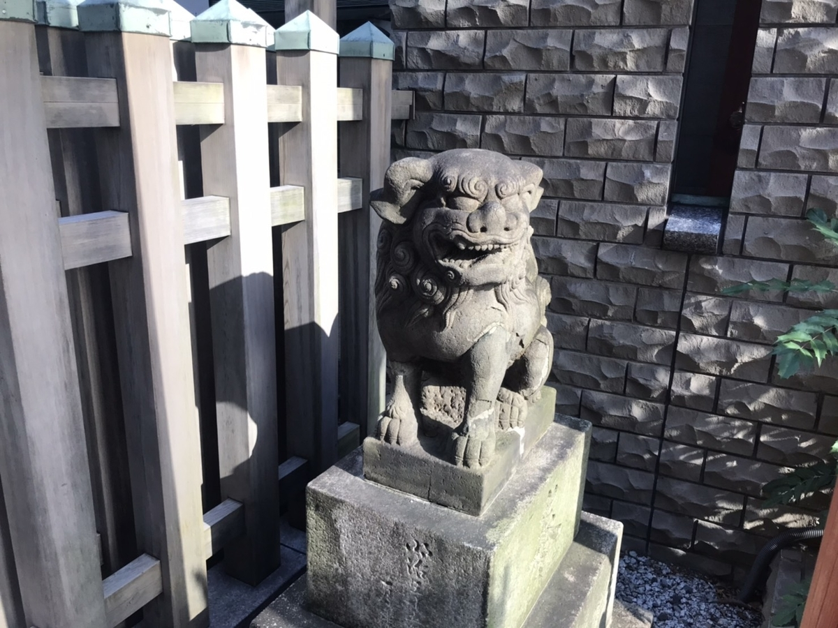 桜天神社(名古屋)の狛犬 右