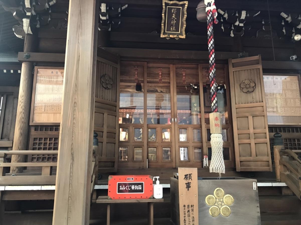 桜天神社(名古屋)の特徴