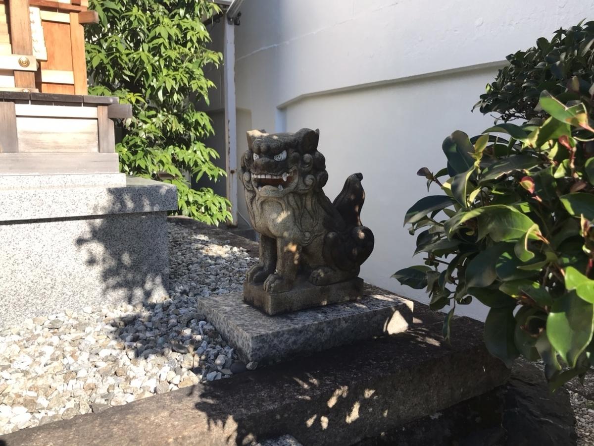 少彦名神社(名古屋)の狛犬 右