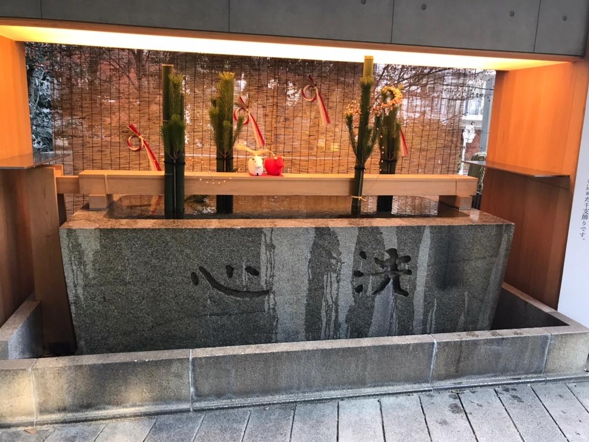 乃木神社(東京)の手水舎(てみずや)