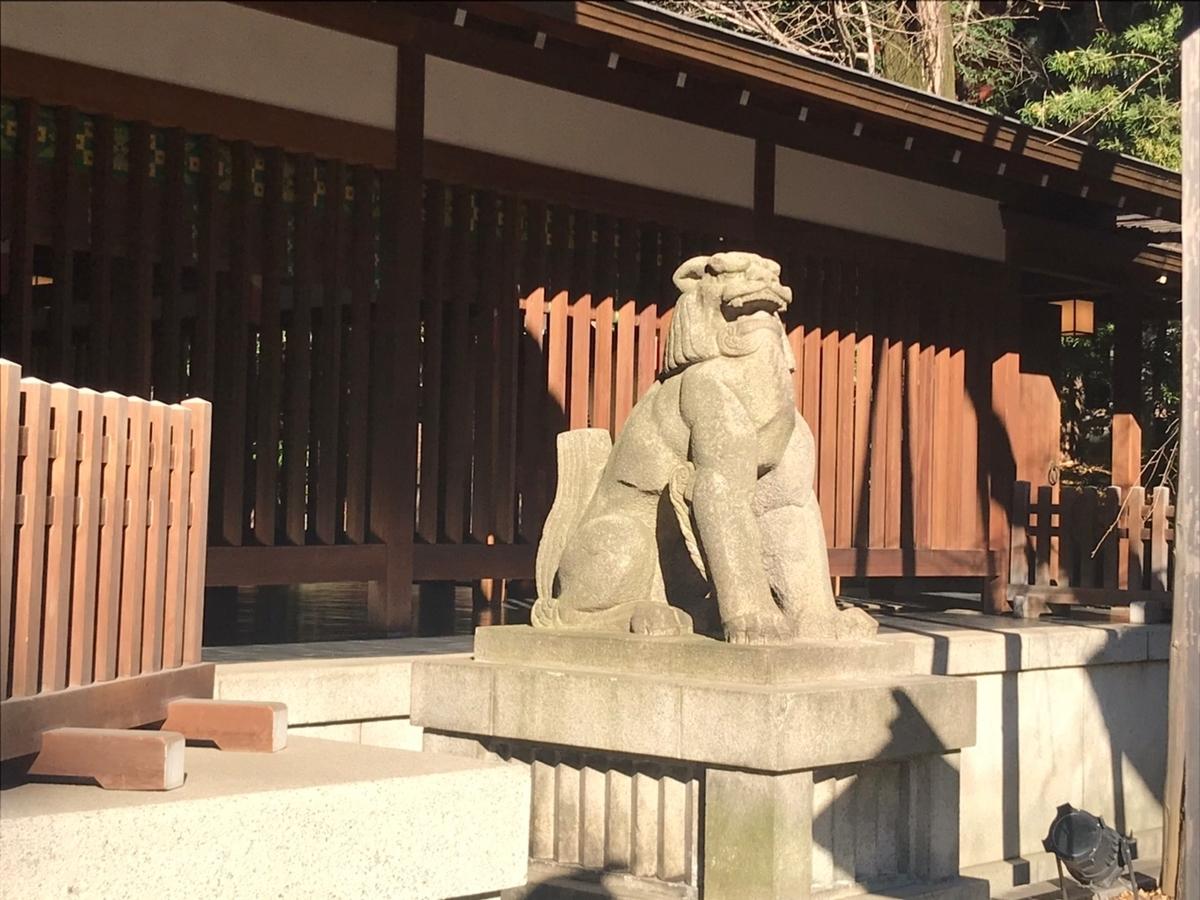 乃木神社(東京)の狛犬