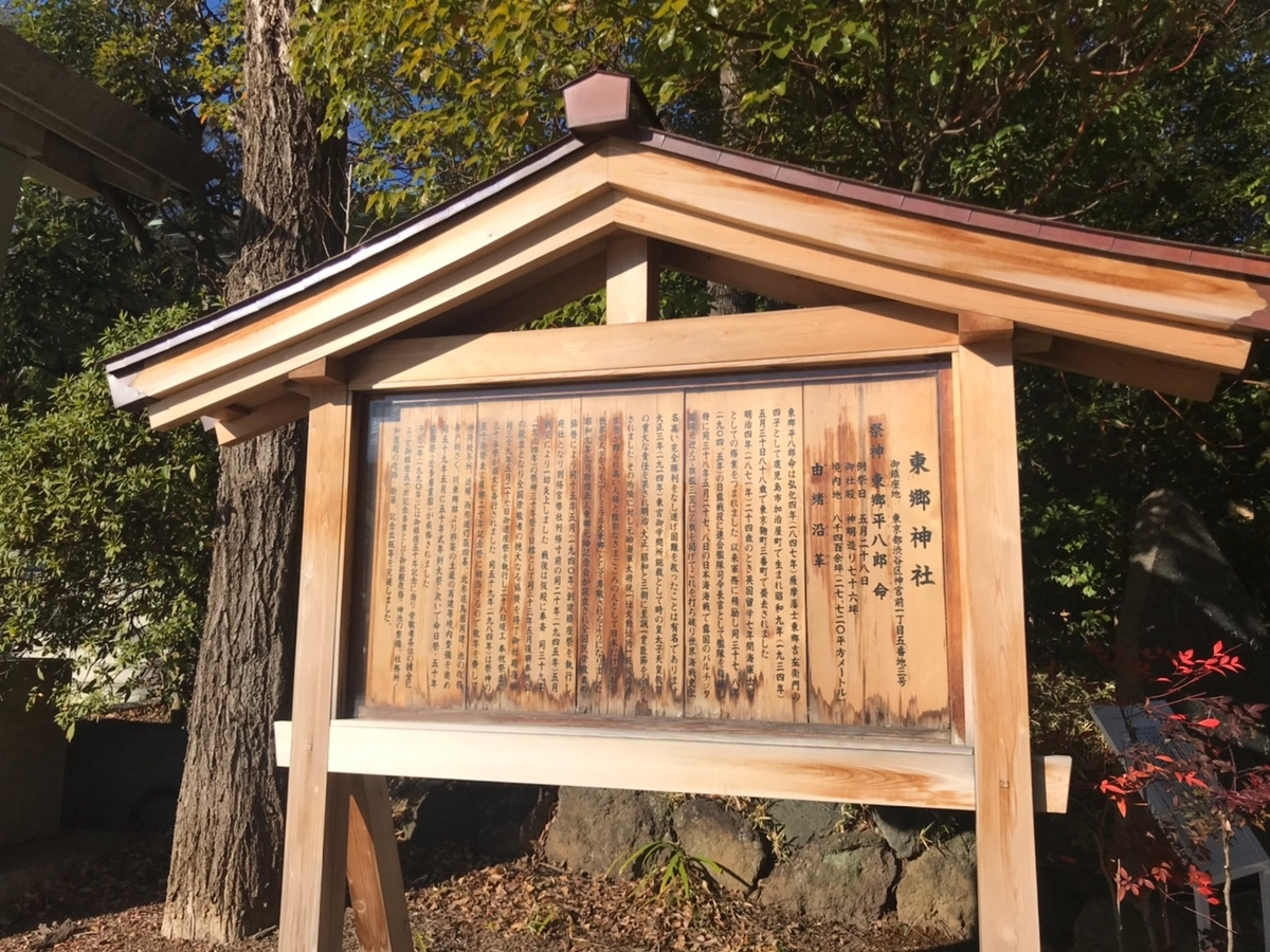 東郷神社の歴史