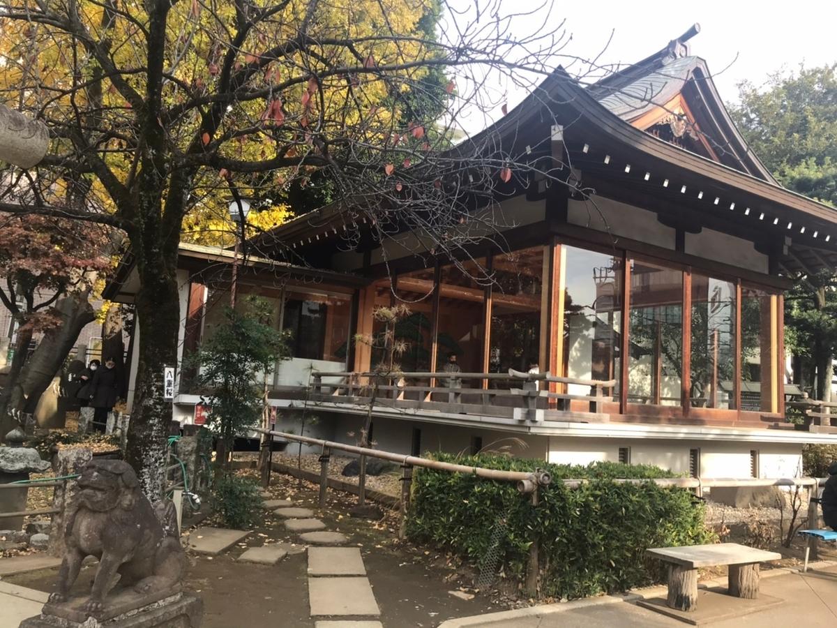 鳩森八幡神社 能楽堂