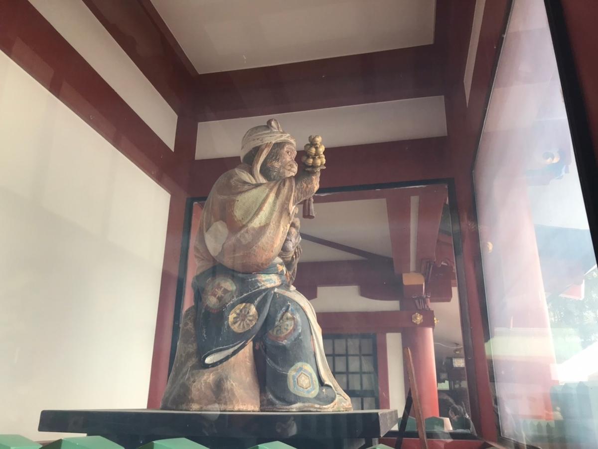 日枝神社の狛犬(猿)