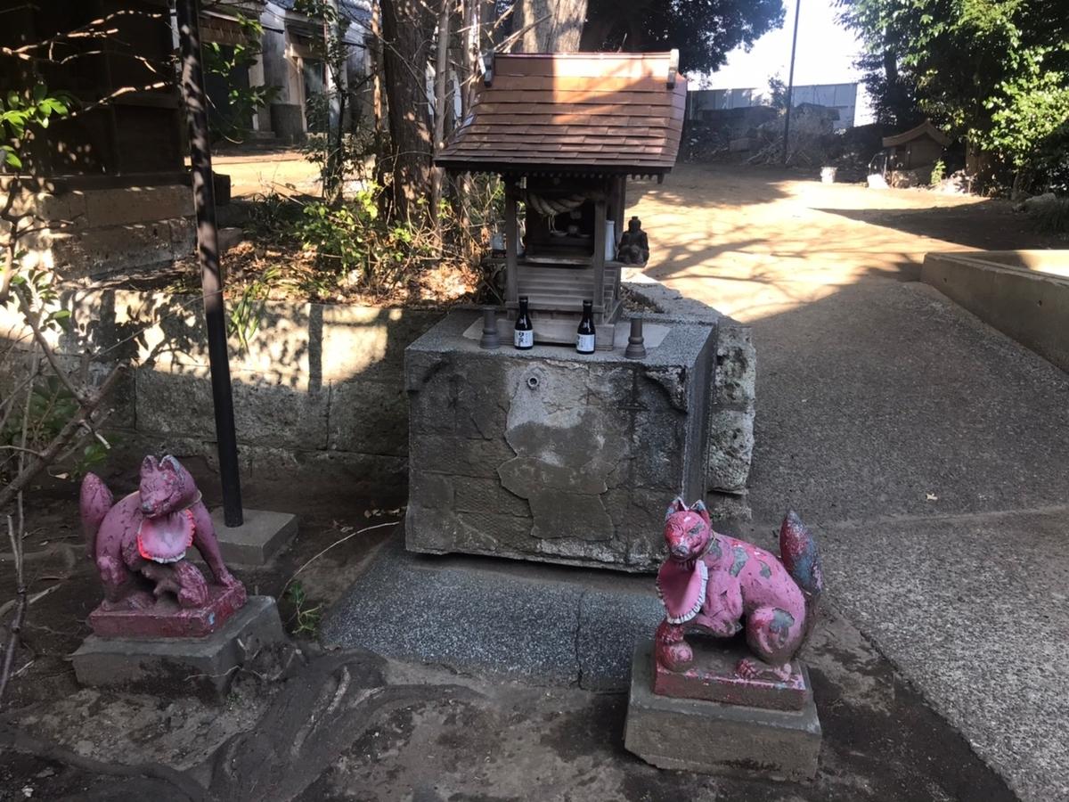 赤羽八幡神社の稲荷神社