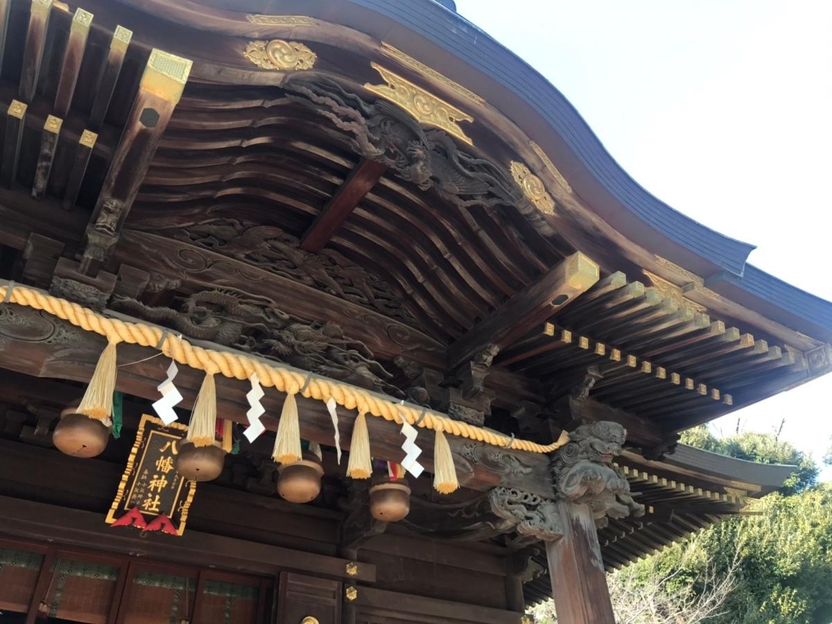 赤羽八幡神の社殿