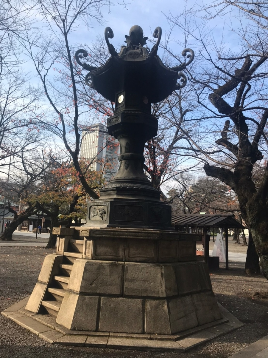 靖國神社 灯籠