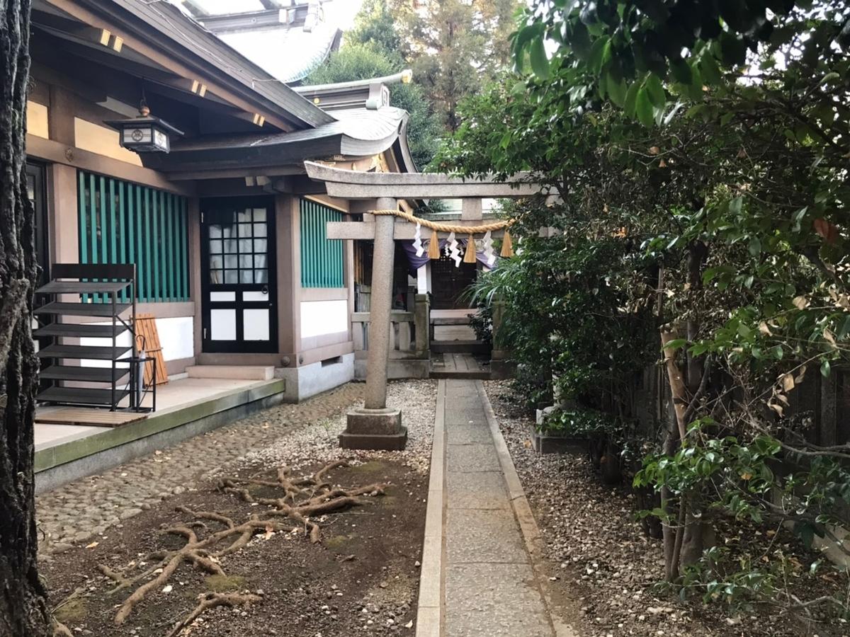 雑司ヶ谷大鳥神社の摂社 三杉稲荷神社