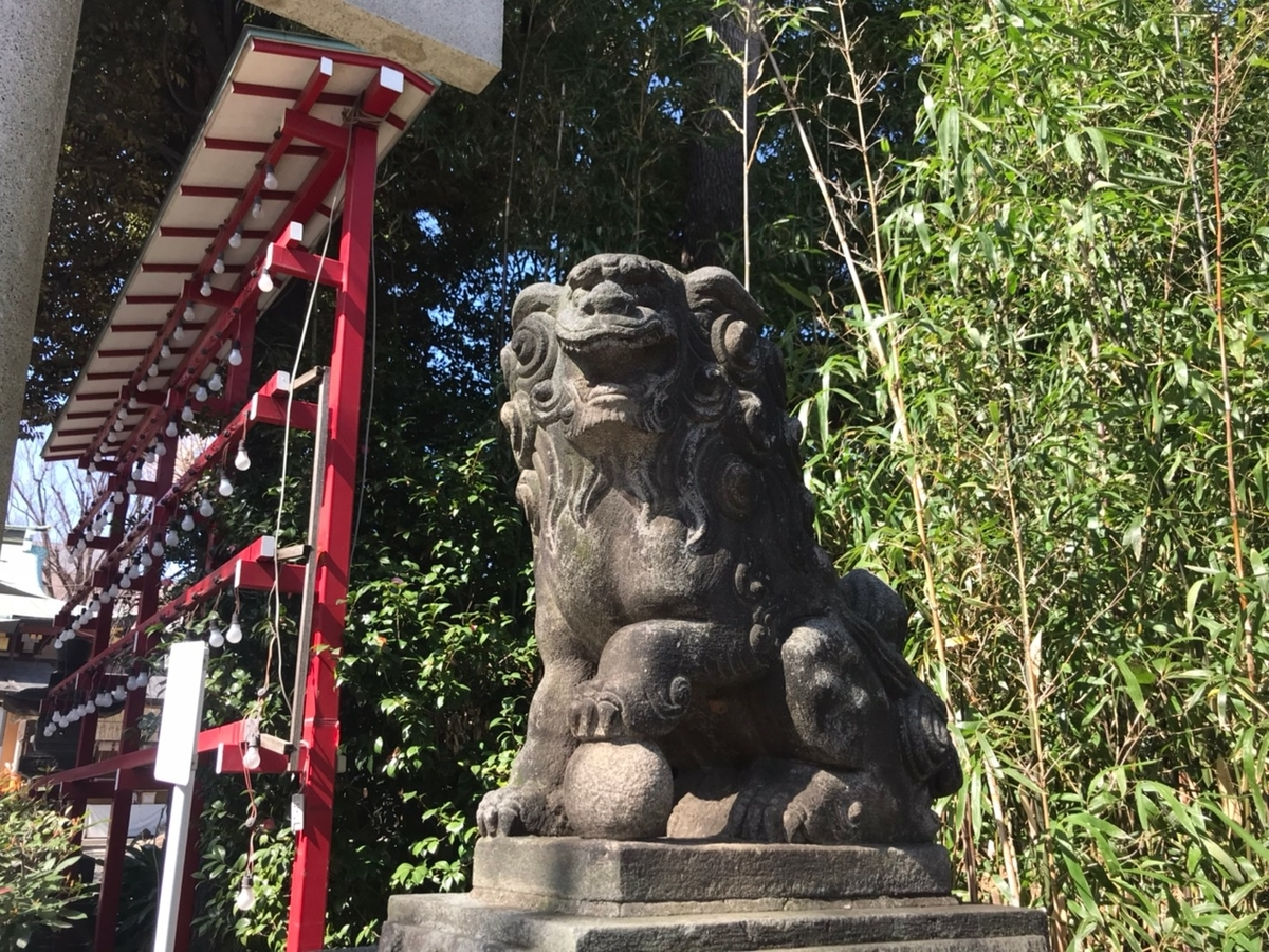 居木神社の狛犬