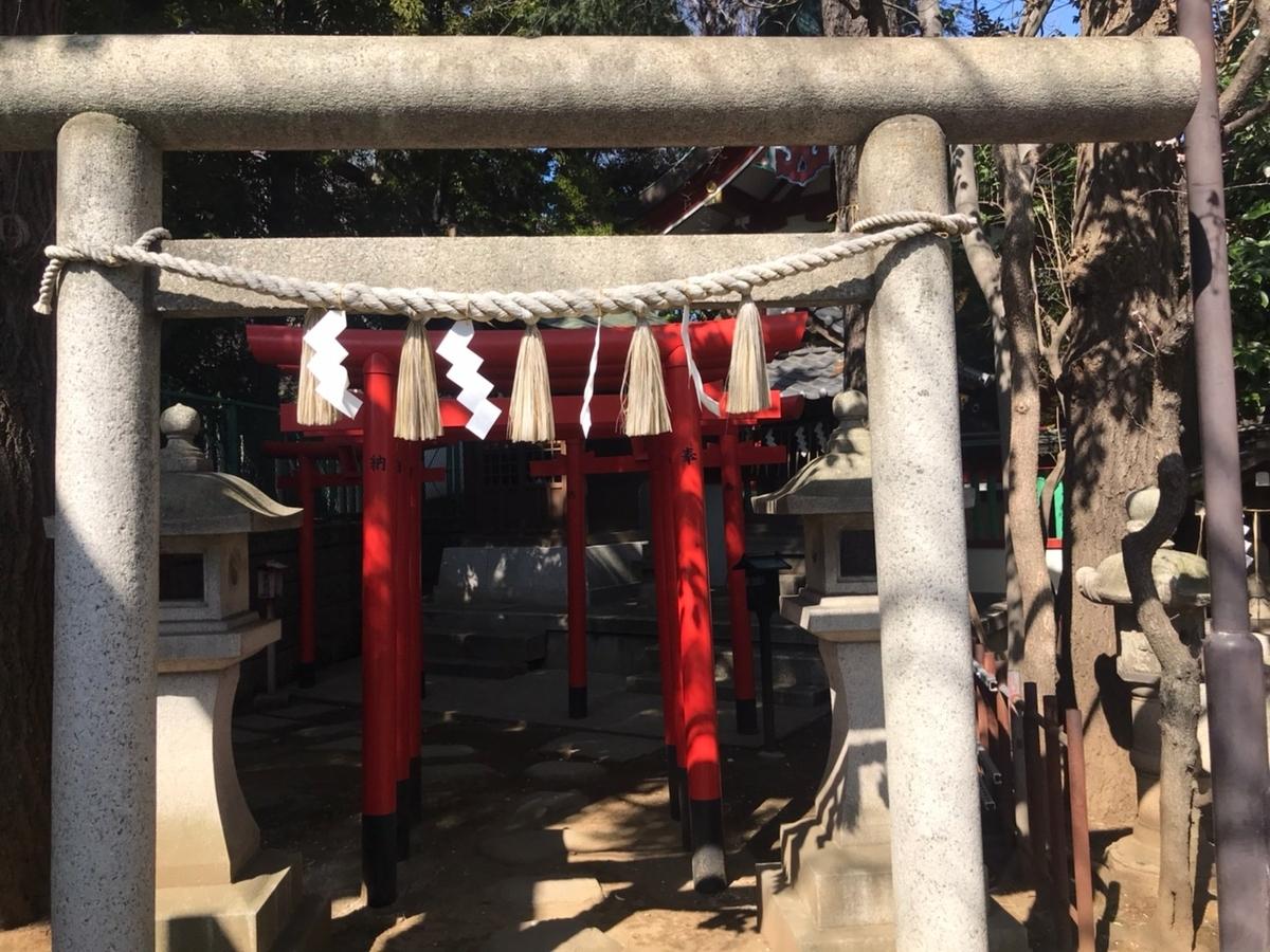 居木神社の摂社 稲荷神社