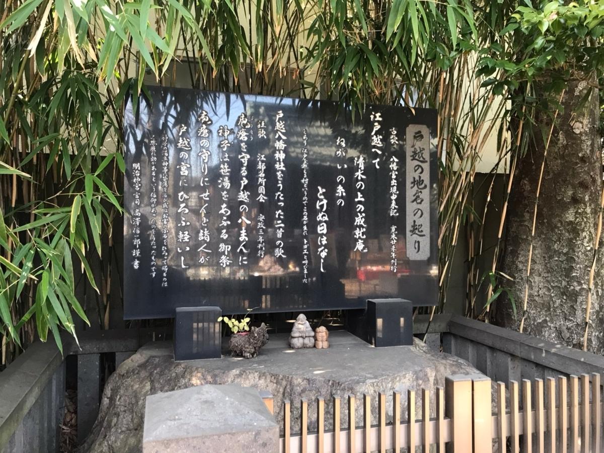 戸越八幡神社 戸越の地名の起こり