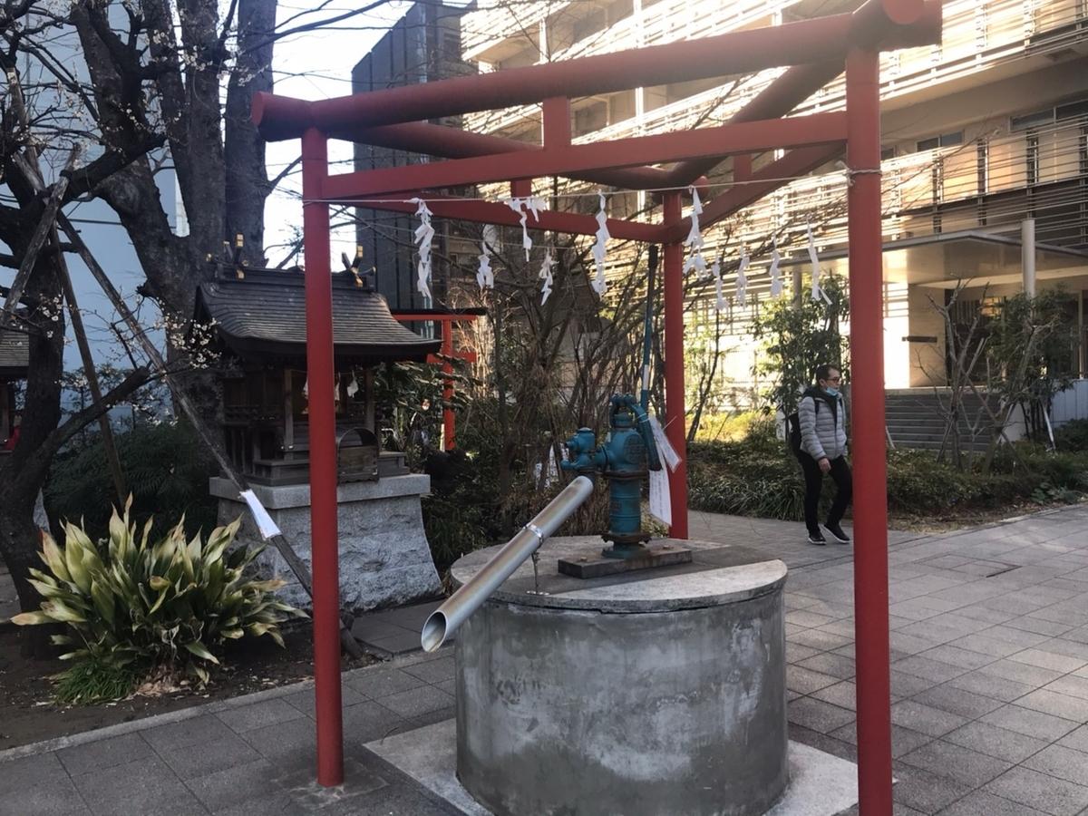 成子天神社の三ツ鳥居