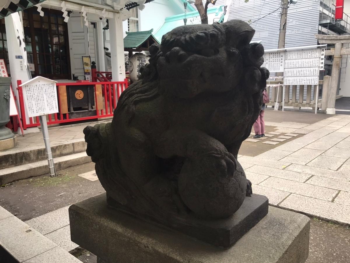 椙森神社の狛犬