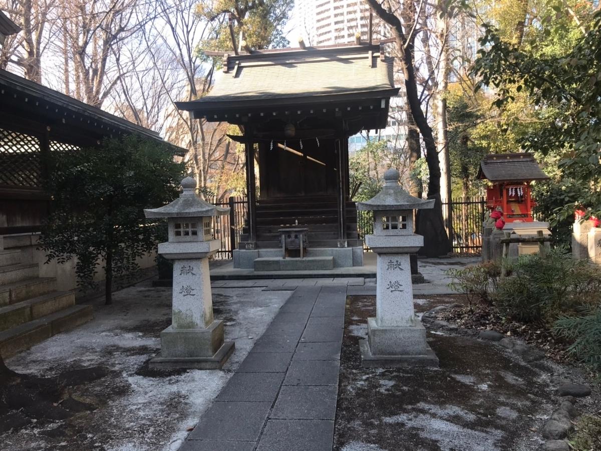 新宿十二社熊野神社の摂社