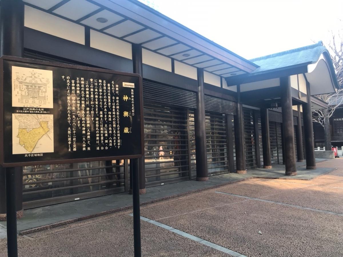 新宿十二社熊野神社の神輿倉