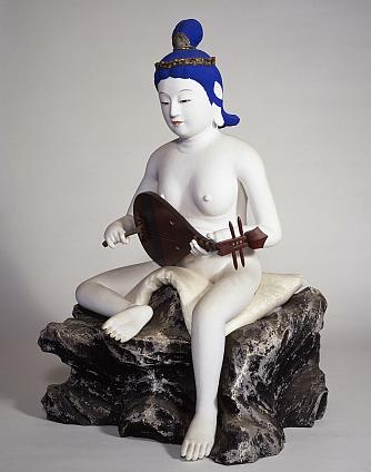 裸弁財天 江島神社