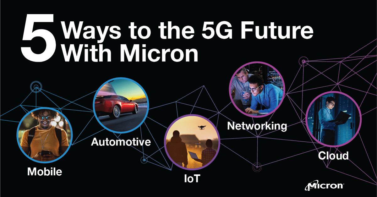 【5G銘柄】マイクロンテクノロジー【MU】