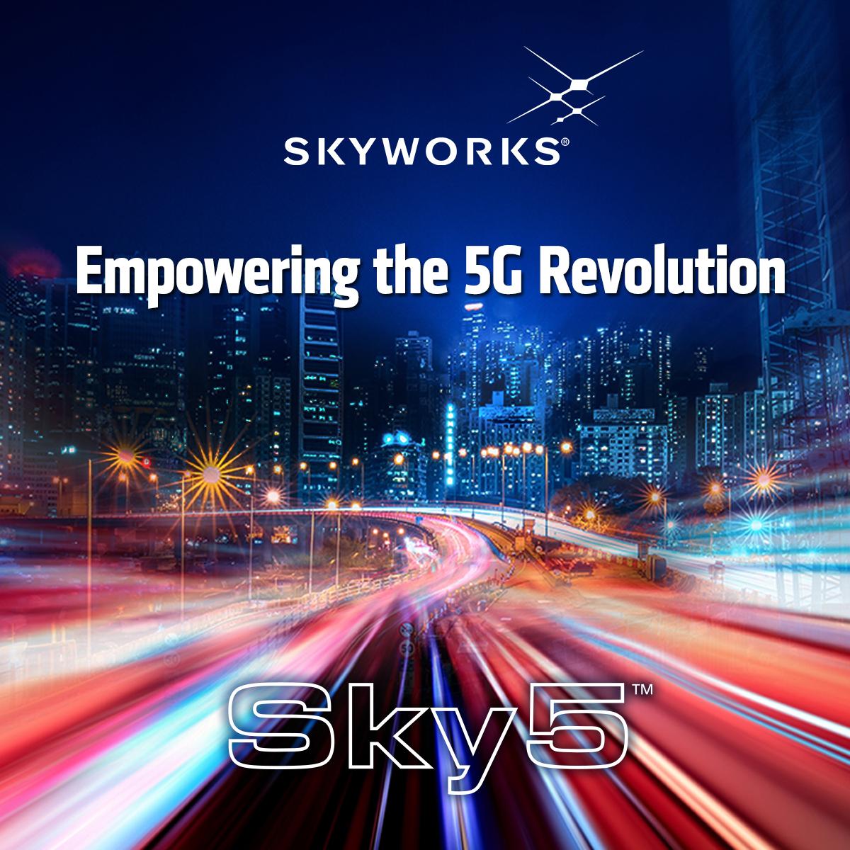 【5G銘柄】スカイワークス・ソリューションズ【SWKS】
