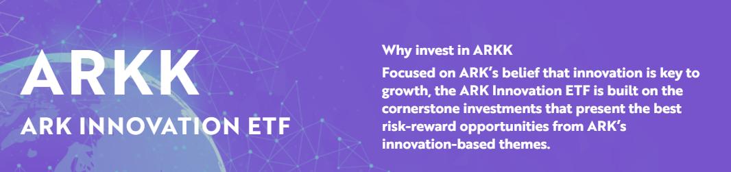 ARK Innovation ETF【ARKK】