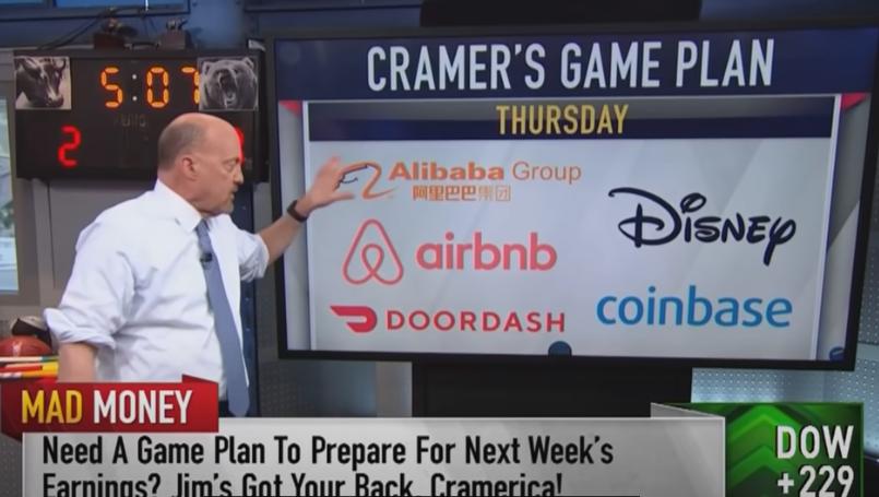 CNBCのマッドマネー(Cramaer's Game Plan)