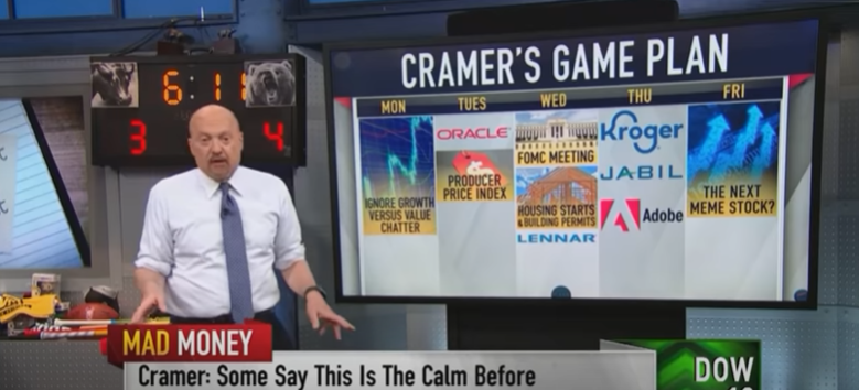 Cramer's game plan(6月14日月曜日~)