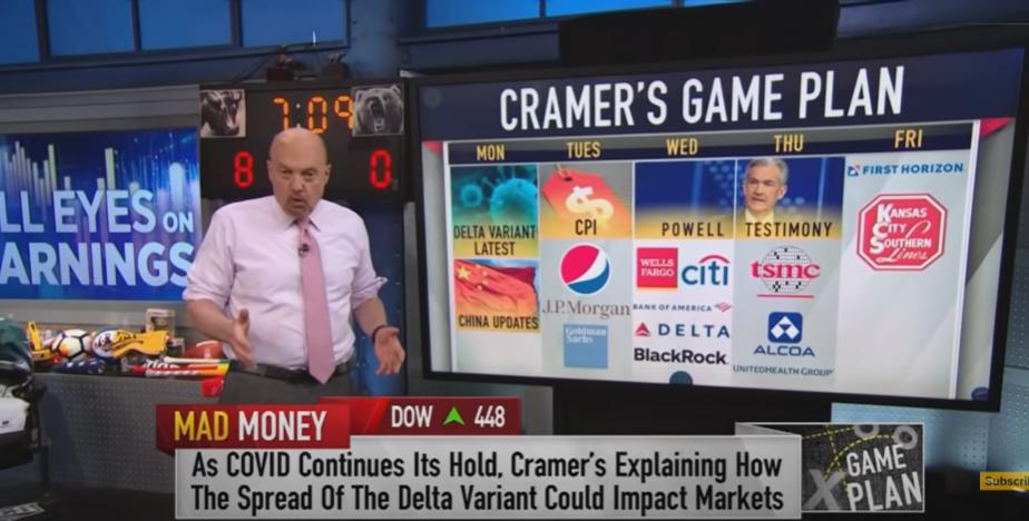 Cramer's game plan(7月12日月曜日~)