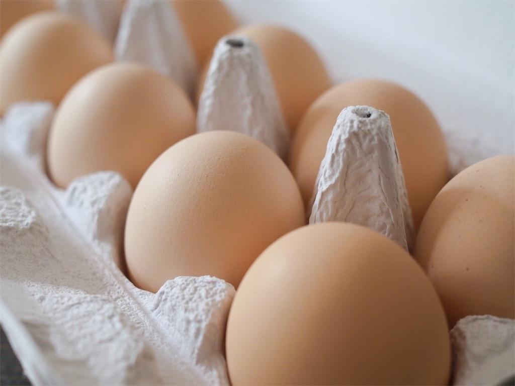 下川町あべ養鶏場の卵
